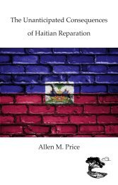 Allen M. Price Haiti Consequences Chapbook
