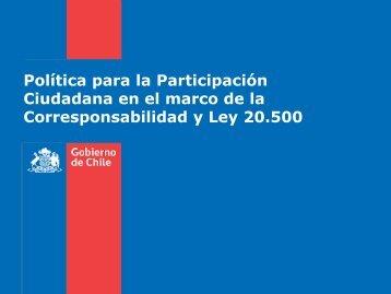 De la participación ciudadana en la gestión pública - Ministerio ...