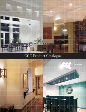 CGC Product Catalogue (Eastern Canada)