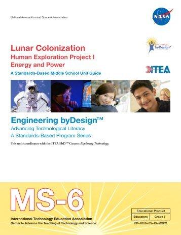 Lunar Colonization Engineering byDesign™ - NASA
