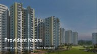 Provident Apartments Behind manyatha Tech park