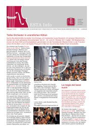 Orchesterwoche - European String Teachers Association