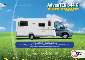 Pricesheet 2012 - TEC Caravans