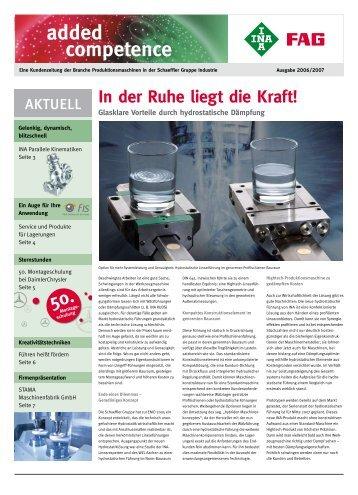 Added competence: Eine Kundenzeitung der Branche ...