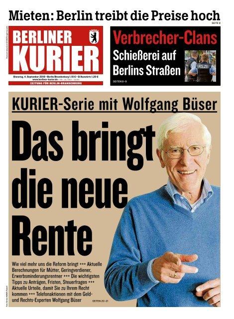 Berliner Kurier 04.09.2018