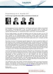 Pressemitteilung als PDF-Datei - Sauren