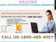 Why we Brought AVAST Contact Number 1800-485-4057?