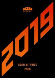 KTM 2019 Gear Parts
