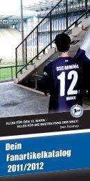 Dein Fanartikelkatalog 2011/2012 - DSC Arminia Bielefeld
