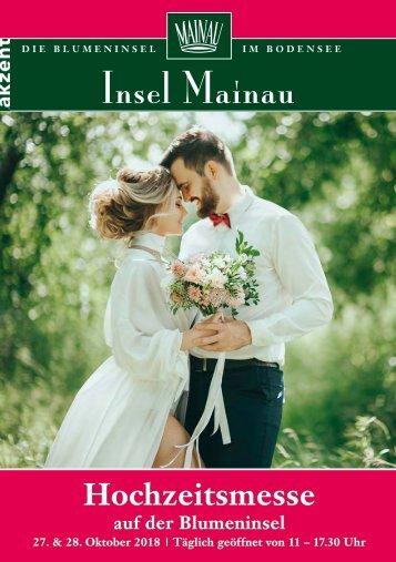 Magazin zur Hochzeitsmesse Mainau 2018