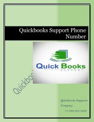 How can I contact QuickBooks support Phone Number