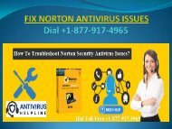 Steps to troubleshoot norton antivirus issues