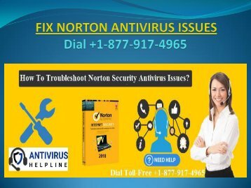 Steps to troubleshoot norton antivirus issues