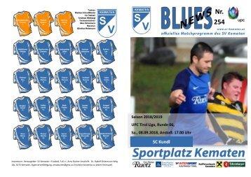 Blues News 254: SC Kundl