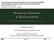 Lorenz D. Property Valuation and Sustainability. RICS Valuation