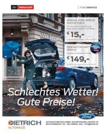 Autohaus Dietrich | Service Winter 2018