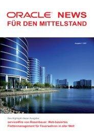 Oracle News für den Mittelstand, Nr. 1 - Ing. Peter W. Kemptner