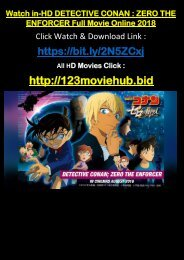 Download Watch Detective Conan Zero The Enforcer Full Movie 2018 FREE