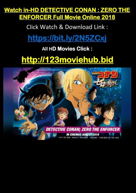 free download detective conan zero the enforcer