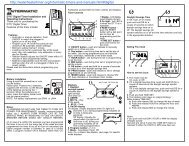 Intermatic DT17 timer manual - Water Heater Timers Save Money