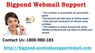 Make A Call At 1-800-980-183 For Bigpond Webmail Support