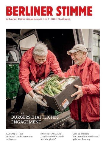 Berliner Stimme Nr. 7 2018