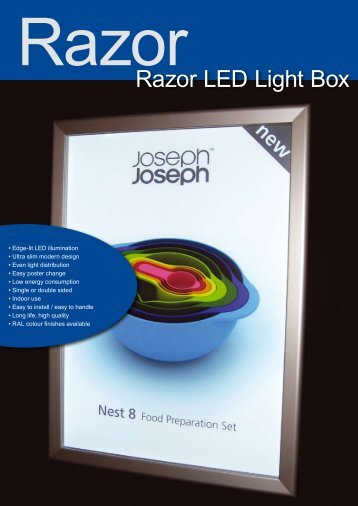 Razor LED Light Box