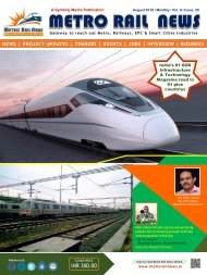 Metro Rail News August 2018