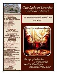 June 10.pdf - Our Lady of Lourdes Catholic Church