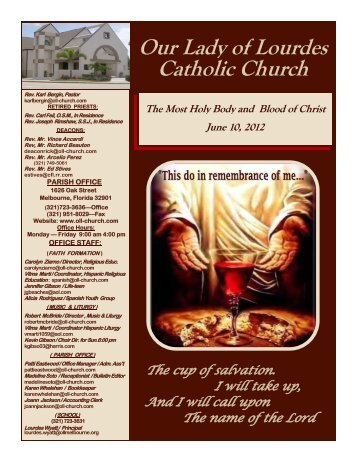 June 10.pdf - Our Lady of Lourdes Catholic Church