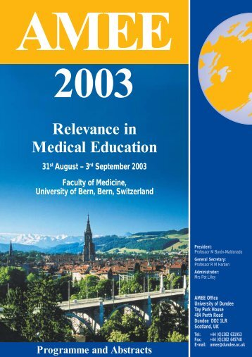 Relevance in Medical Education - AMEE