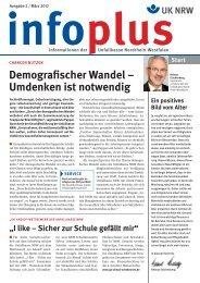 infoplus - Unfallkasse NRW