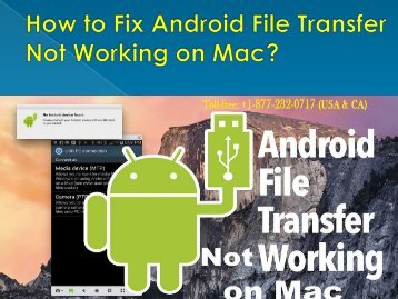 How to Fix Android File Transfer Not Working on Mac