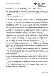 Ausflüge der Jugendfeuerwehr - Unfallkasse NRW