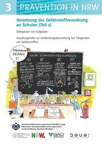 Umsetzung der Gefahrstoffverordnung an ... - Unfallkasse NRW