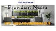 Provident Neora Thanisandra Main Road - North Bangalore