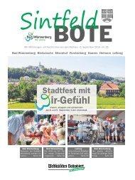 Sintfeld Bote September 2018