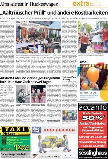 Altstadtfest in Hückeswagen -06.09.18-