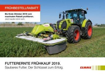 2018 CLAAS FEM Frühbezug 2019