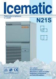 N21S Fabbricatori di ghiaccio in  cubetti