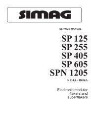service manual sp 125  sp 255 sp 405 sp 605 spn 1205 r134a