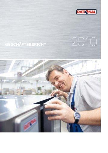 RATIONAL | Geschäftsbericht 2010 - Investor Relations Center