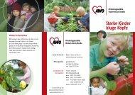 Starke Kinder kluge Köpfe - AWO Bezirksverband Niederrhein eV