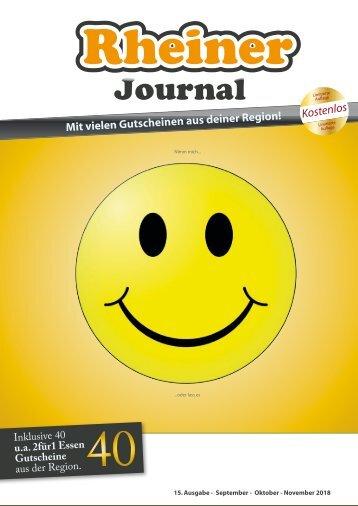 Rheiner Journal - Herbst 2018