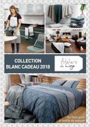 Catalogue général Les Ateliers du Linge Automne-Hiver 2018