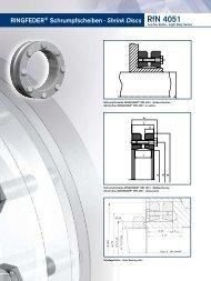 Shrink Discs - Spannsatz - Welle Nabe Verbindung