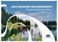 Licht-Quanten Produktfolder