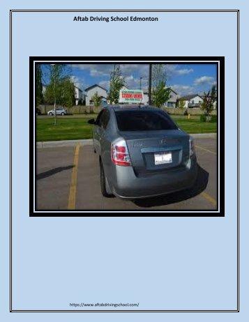best driving school west Edmonton.