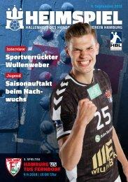 Hallenheft | Handball Sport Verein Hamburg – TuS Ferndorf