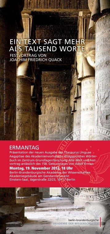 Veranstaltungsflyer anzeigen (PDF-Datei) - Berlin ...